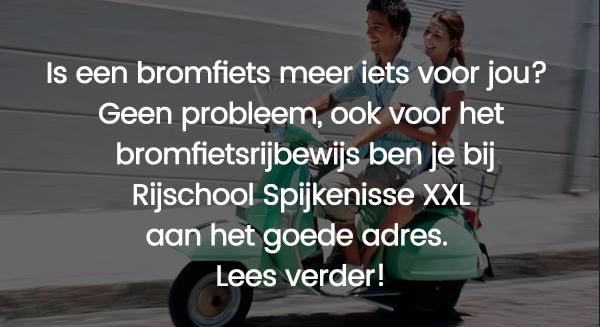 bromfietsrijlessen rijschool spijkenisse XXL